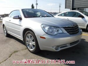 2008 CHRYSLER SEBRING LIMITED 2D CONVERTIBLE LIMITED