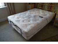 double electric craftmatic bed with massage.