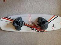 Liquid force wakeboard and bindings 134