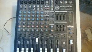 mixer top pro music gear DPM-1112cfx