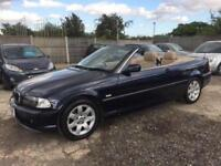 BMW 320 2.2 Automatic Ci 2002/52 Plate Petrol- LOW MILEAGE-LONG MOT
