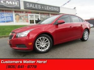 2013 Chevrolet Cruze ECO  ALLOYS, SPOILER, STEERING AUDIO CTLS,