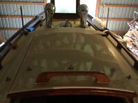 Lost Beige-coloured, fibergalss/wood Hatch Cover For Sailboat