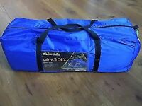 Tent 5 man eurohike cairns deluxe
