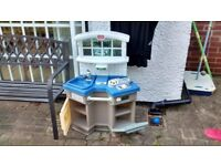 Little Tikes Kitchen (Indoor or Outdoor Use) Well-Used