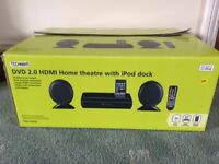 Technika DVD Player Home Theatre with iPod Dock