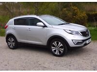 KIA SPORTAGE 2.0 CRDI with Full Leather & High Spec