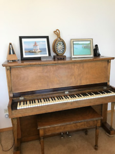 Weber Deluxe Kingston Piano-From Heintzman Co. Ltd,Toronto