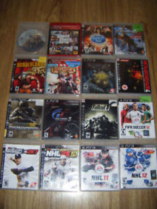16 Playstation 3 games for sale ..