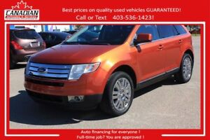 2008 Ford Edge Limited GREAT SHAPE! $157/SEMI-MONTLHY OAC