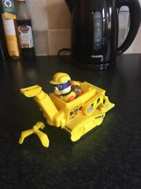 Paw patrol rubble and vehicle