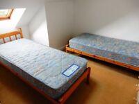 "2 x Small Single Sprung Mattress 2' 6"" (75 cm) x 6' 3"" (190 cm) x 6"" (15 cm) (plus free bed frames?)"