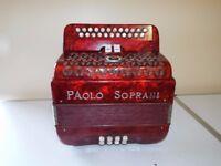 Paolo Soprani Accordion in great condition quicksale £900
