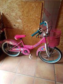 Hello kitty girls 16inch bike