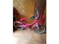Hello kitty girls 16inch bike