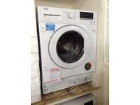 8kg intergrated washer/dryeer. 12 month gtee
