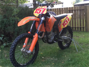 KTM  450 SX-F Motocross Bike , with Electric Start !