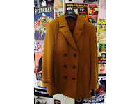 Genuine 1970's Pure Wool and Cashmere Men's Camel Coat Amazing Condition SIze L/XL