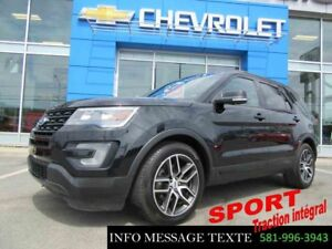 2016 Ford EXPLORER 4WD SPORT AWD
