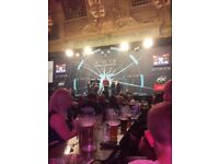 4 tickets - betvictor world matchplay darts - Sunday 30th July - the final