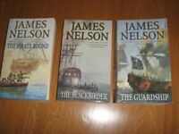 The Brethren of the coast trilogy by James Nelson