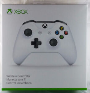 Xbox One Wireless Controller - White - Brand-new, Factory Sealed