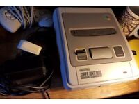 SNES with x2 control pads