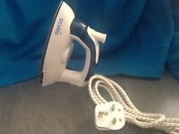 Steam Travel iron which folds flat never been used