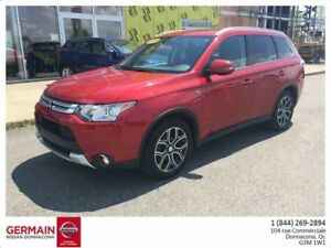 2015 Mitsubishi OUTLANDER AWD GT-CUIR-7 PASSAGERS-CAMÉRA-TOIT OU