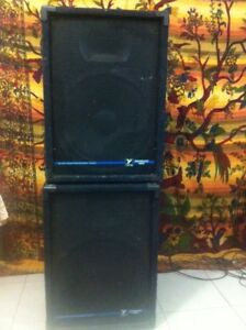 Yorkville P.A Speakers