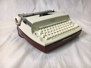 Sears Electric 10 Portable Electric Typewriter.