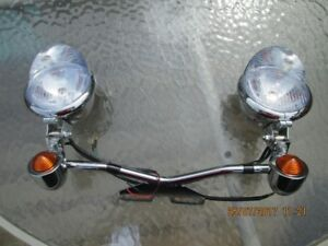 Motorcycle driving lights, Universal Fit