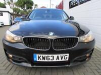 BMW 3 SERIES 2.0 318D SE GRAN TURISMO 5d 141 BHP (black) 2014