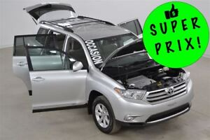 2013 Toyota Highlander V6 4WD Bluetooth+Camera de Recul+Demarreu