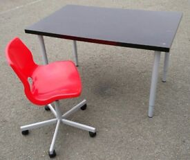 Ikea desk and Ikea chair/ good used cond/FREE LOCAL delivery available.