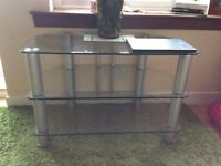 Free - glass tv stand