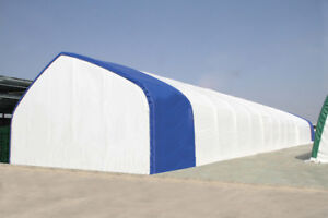 Temporary Fabric Coverall Structures (Industrial Grade)