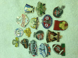 Grey Cup and CFL lapel pins