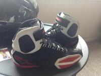 Alpinestars motorcycle shoes size 10