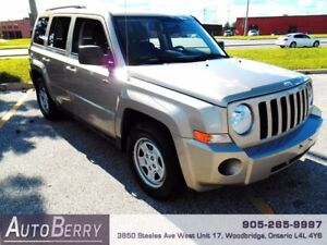 2010 Jeep Patriot Sport *** CERTIFIED * ACCIDENT FREE *** $7,499