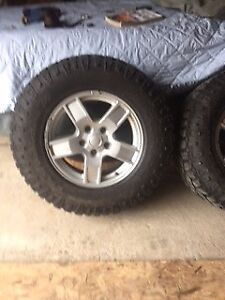 Jeep rims and tires 31 inch