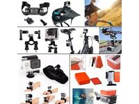 DAILY 50 in 1 Sports Action Camera Accessories for GoPro Hero 4 Session Hero 1 2