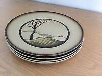 4 Denby Savoy Side Plates