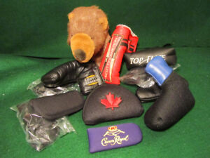 Assorted Golf Putter Covers for Sale