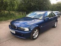 BMW 3 SERIES 2.0 318Ci Coupe 2dr Petrol Automatic HPI CLEAR