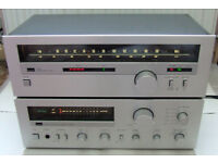 Sansui A-60 Integrated DC Servo Amplifier with matching T-60 AM-FM Stereo Tuner