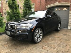 2016 BMW X6 50i X-Drive 4.4L Twin Turbo V8 M Sport