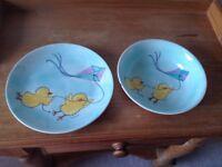 China bowl and plate set