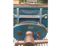 Record 521/2 E Vintage woodworking vice