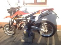 125 supermoto very low miles Cr crf rm rmz kx